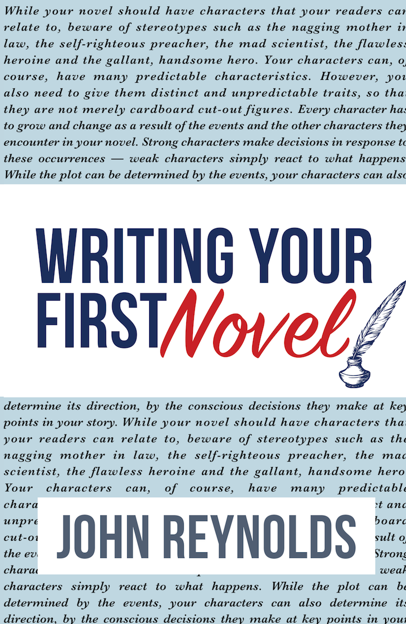 Writing Your First Novel cover