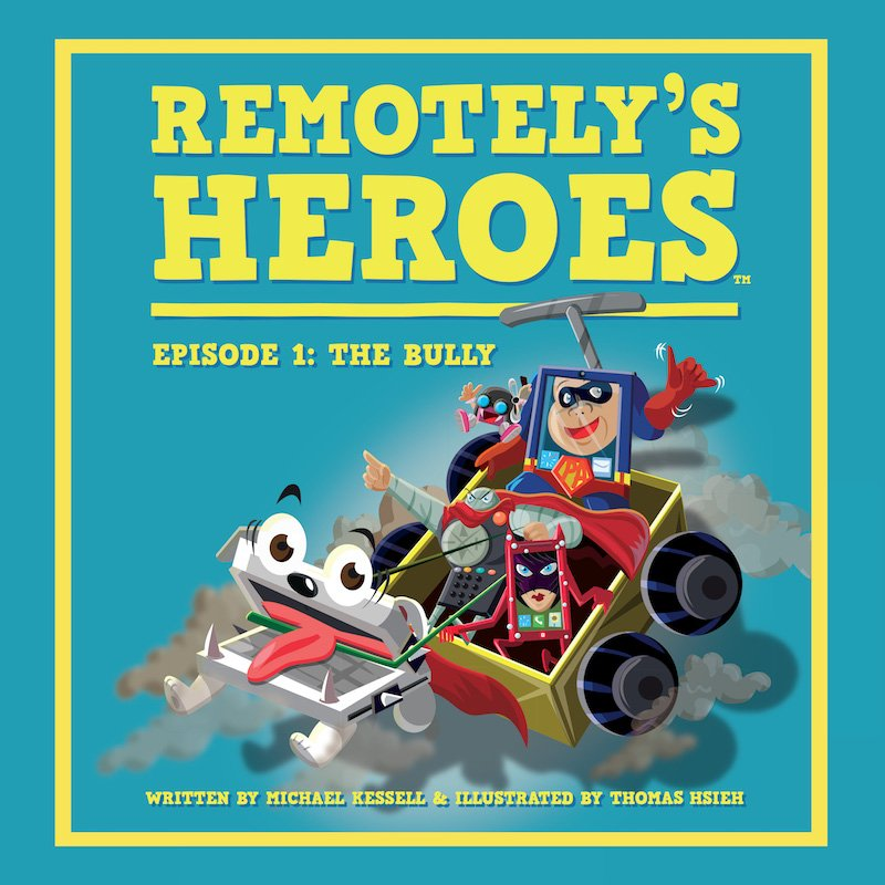 Remotely's Heroes cover
